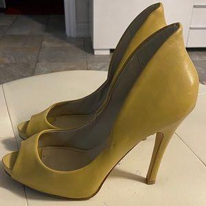 Aldo Mustard Heel